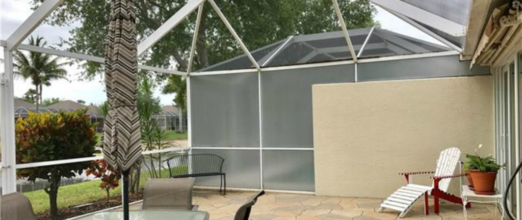 Florida Glass Vinyl Laminated Phifer Privacy Screen